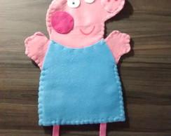 George pig peppa fantoche infantil