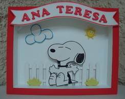 Quadro Maternidade Snoopy