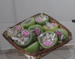 Sabonete Artesanal de Coco Verde