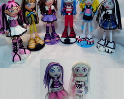 Fofuchas Monster High - kit 8 fofuchas