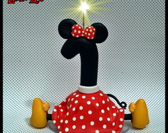 Vela Minnie 14cm c�pia proibida