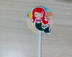 Toppers com relevo Princesa Ariel