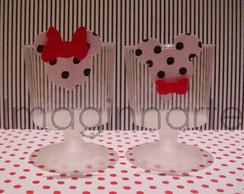 Potinhos p/ doces - MICKEY E MINNIE