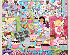 Cupcake Fairies (kit digital)