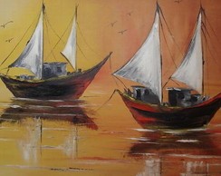 """Painel """"P�r do sol II """""""