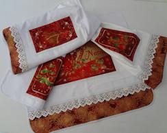 Conjunto de Cozinha Natal (4 itens)