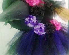 Fantasia Bruxinha Flores Completa