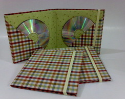 Case para CD/DVD. Porta CD/DVD.