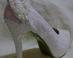 Sapato de Noiva Customizado