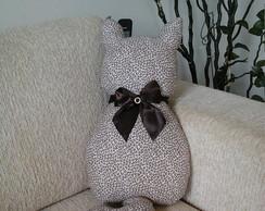 Almofada Formato de Gato