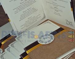 Casamento A&I - Papelaria Personalizada