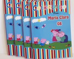Revistinha de Colorir Peppa Pig