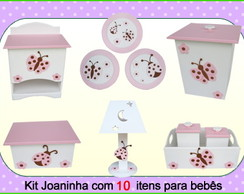 kit higiene Quarto do Beb� -10 Pe�as