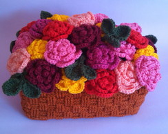 Cesta de Rosas de Croch�