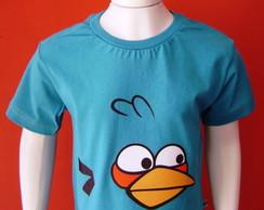 Camiseta Infantil Angry Birds - Blue