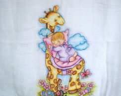 Fralda Girafa