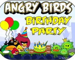 Adesivo Marmitinha 12x9 - Angry Birds