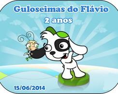 Adesivo Marmitinha 12x9 - Pocoyo