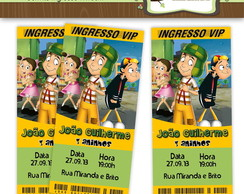Convite Ingresso Chaves