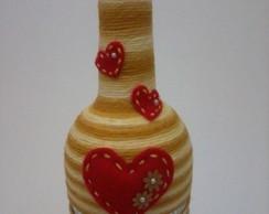 Garrafa Decorativa Sweet Heart