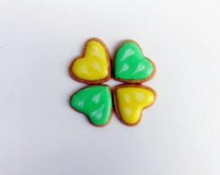Biscoito Mini Cora��es Coloridos