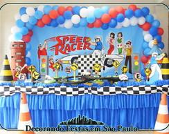 Decora��o Mesa Speed Racer