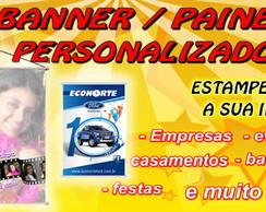 BANNER / PAINEL - 0,90cm x 0,60cm