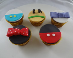 Cupcake da turma do mickey