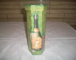 Caixa de Vinho MDF.