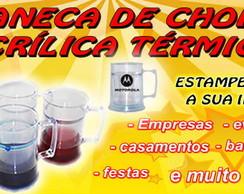 CANECA DE CHOPP T�RMICA - ACR�LICA GEL