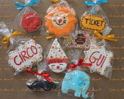 Cookies Decorados - Circo