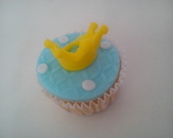 Cupcake Pequeno Pr�ncipe (tamanho Mini)