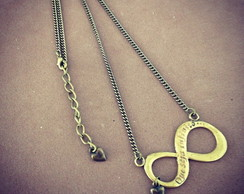 Necklace Infinite (s�mbolo infinito)
