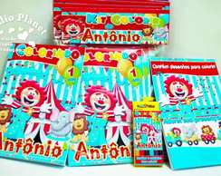 Revista kit colorir Circo