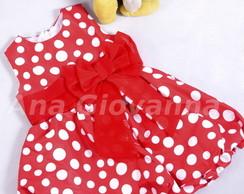 Vestido da Minnie balon� baby