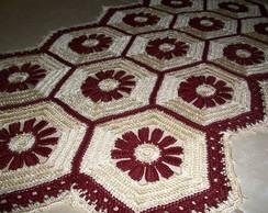 Tape de croch� com linha de seda