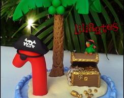 Topo de bolo Piratas_c�pia Proibida