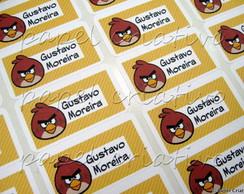 Etiqueta Adesiva MN - Angry Birds