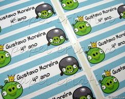 Etiqueta Adesiva P - Angry Birds