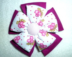 Flor de Fuxico 8 cm