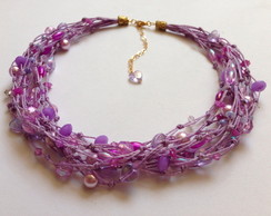 Conjunto Lilac Waves Rock Cherry