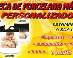 CANECA DE PORCELANA M�GICA PERSONALIZADA