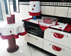 Jogo De Cozinha: MORANGOS