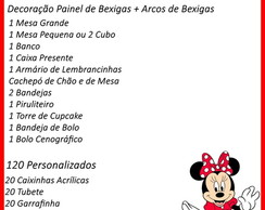Decora��o Minnie 4