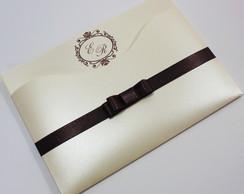 Convite Luxer Slim /papel perolado