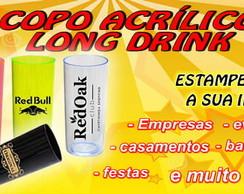 COPO PERSONALIZADO LONG DRINK