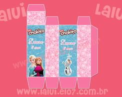 Frozen - Caixinha para Chockito