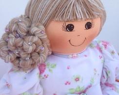 Boneca De Pano Princesa 60 Cm