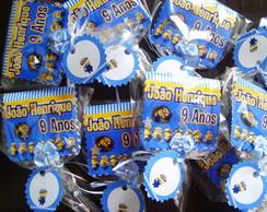 Pirulito-Convite Minions