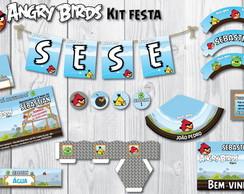 Kit Festa Angry Birds Jogo Completo